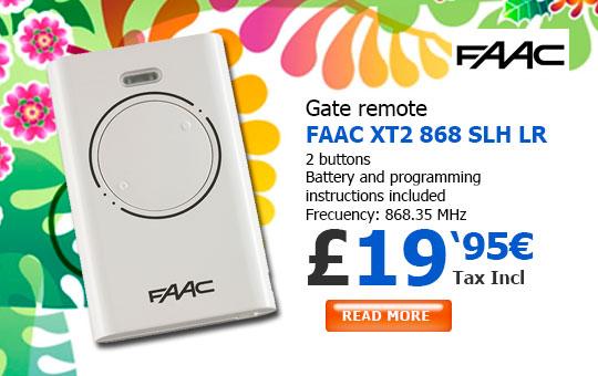 FAAC XT2 868 SLH Remote