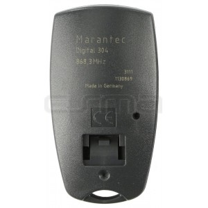 Garage gate remote control MARANTEC D304-868