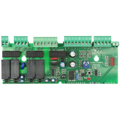 CAME ZBX6 Control panel