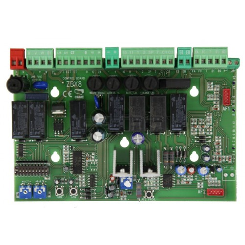 CAME ZBX8 Control panel