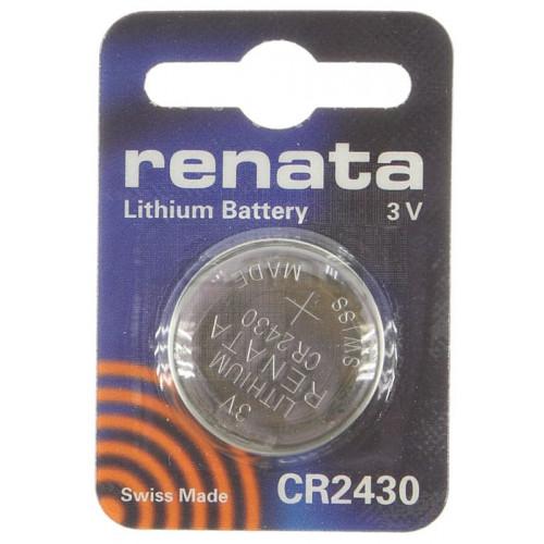 Pila botón litio CR2430