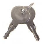 Unlocked key numbered BFT I100097 10010